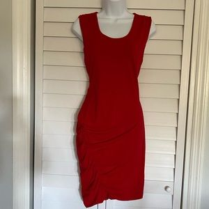 Express Bright Red Dress